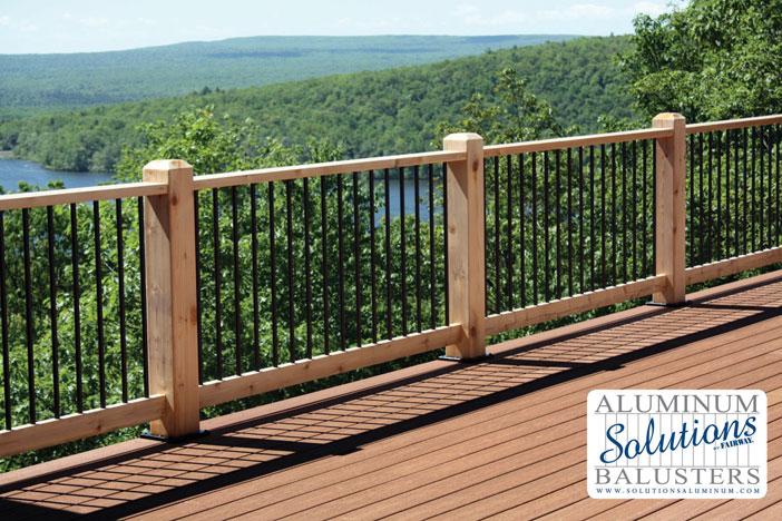Aluminium Railing Systems : Aluminum deck balusters roselawnlutheran